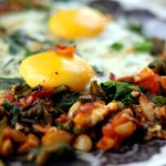 spinach-shakshuka
