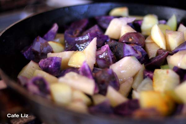 frying-potatoes