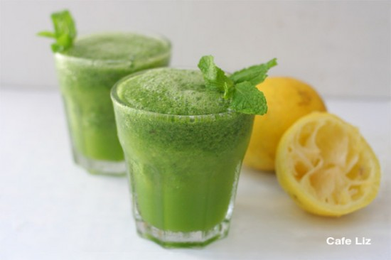 Ice limonana — mint lemonade, the drink of the Israeli summer ...
