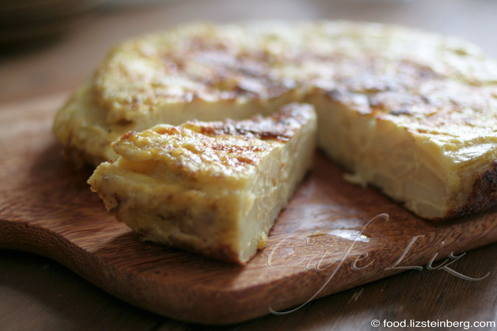 Spanish tortilla – Cafe Liz