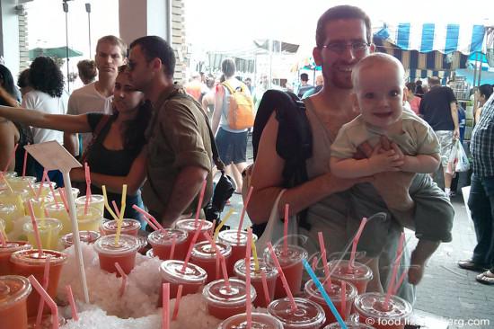 Juice-stand-Tel-Aviv-Port